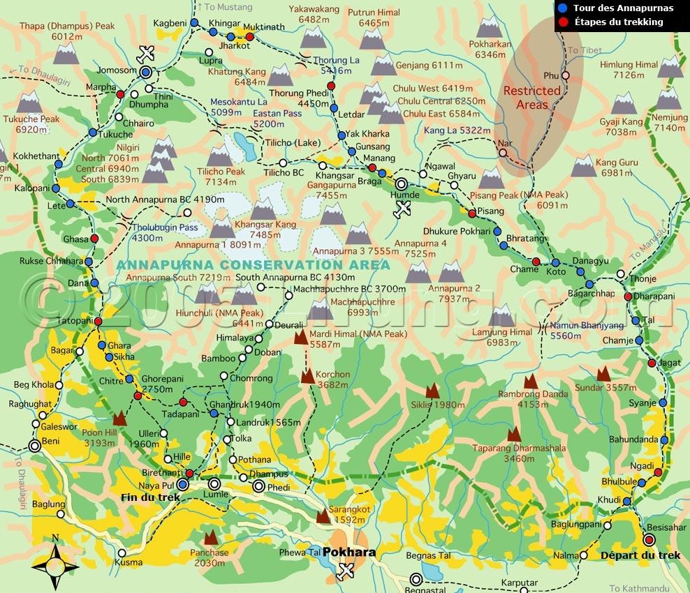 Faire le trek du Tour des Annapurnas en solo – L'Apprentie