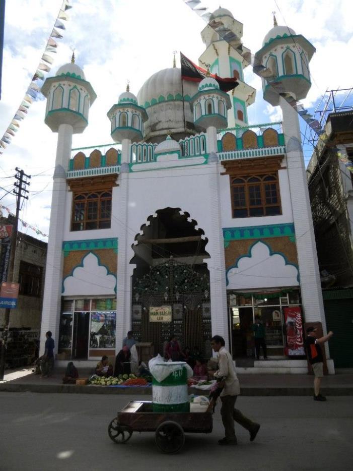 Il existe une minorité de musulmans à Leh
