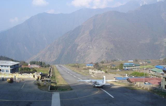 Aeroport-Lukla-Nepal