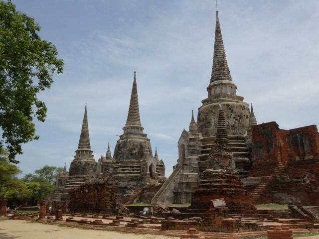 ayyuthaya, Thailande