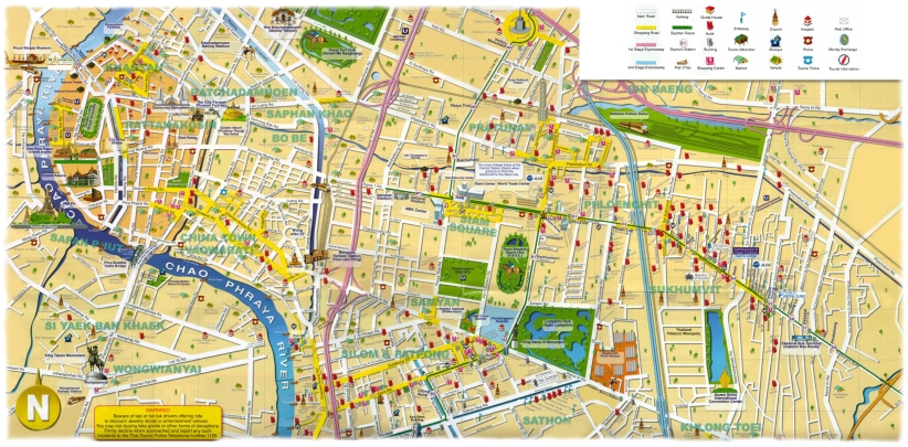 carte_bangkok_avec_les_monuments_importants