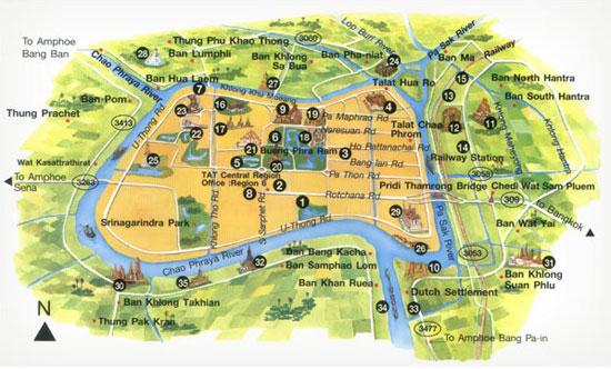 ayutthaya-city-map