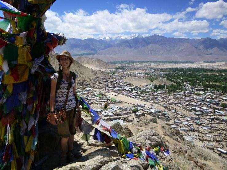 Vue sur Leh Ladakh