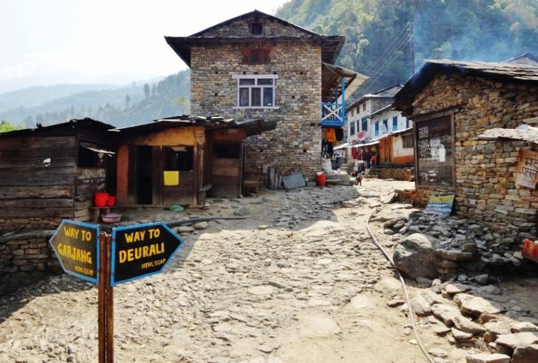 Col Deurali Népal Trek Everest