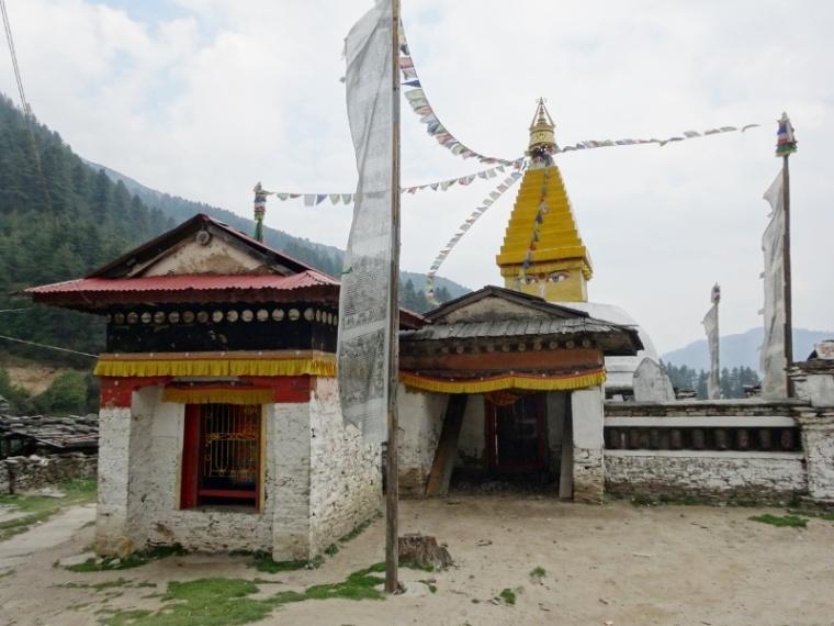 Junbesi Népal Trek Everest Stupa