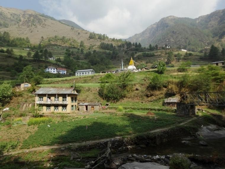 Village Jumbesi Trek Everest Népal