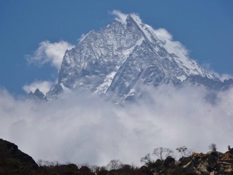Vue sur le Khumjung Népal