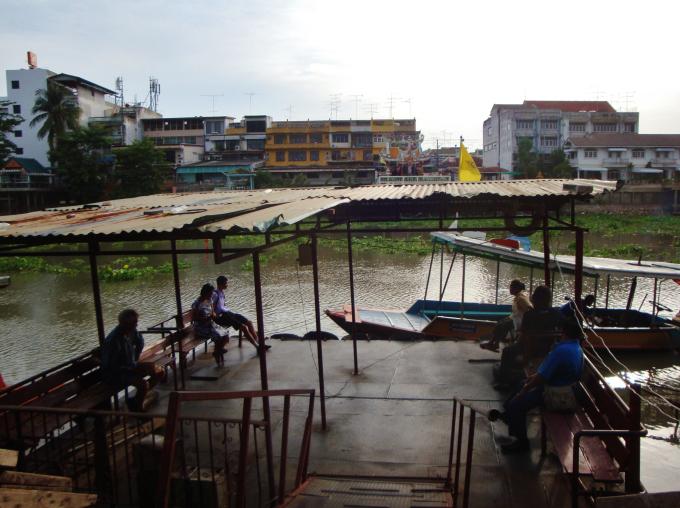 Ayuthhaya rivière