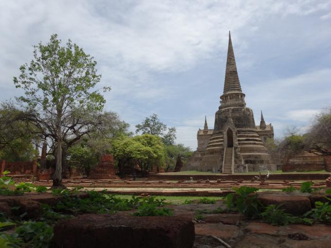Ayuthhaya thailande ville