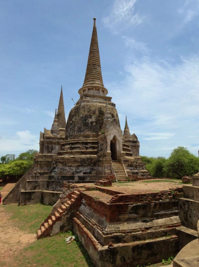 Ayutthaya temple thailande