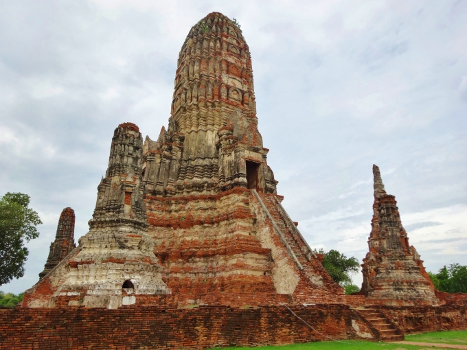 ayutthaya temple wat