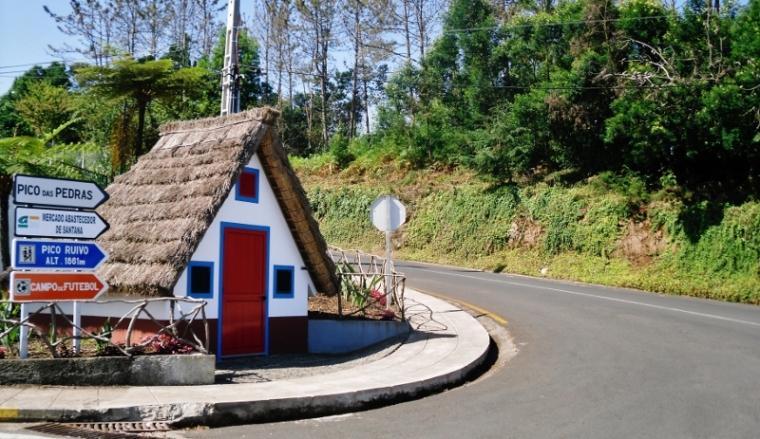 Madère Santana maison typique