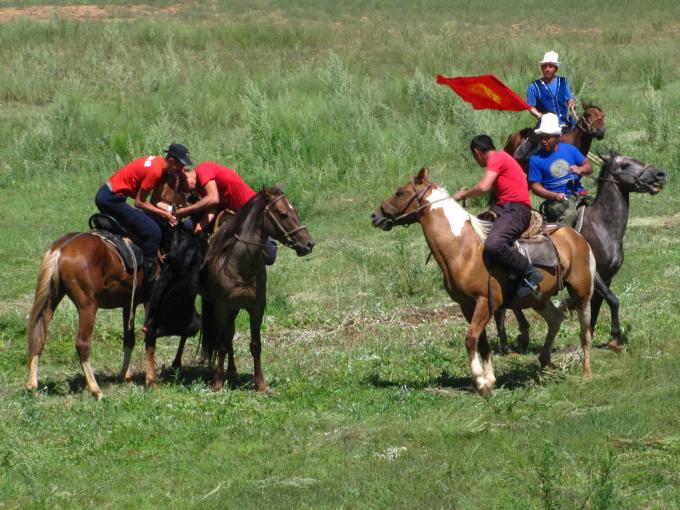 Bouzkachi Kirghzstan