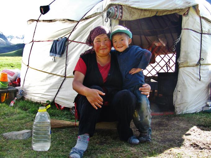 Kirghizstan yourte