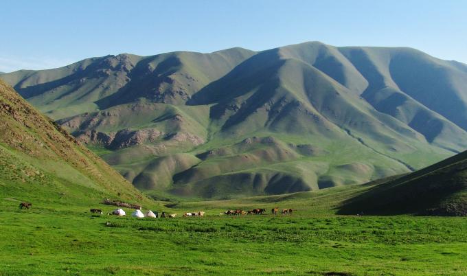 Song Kul Kirghizstan