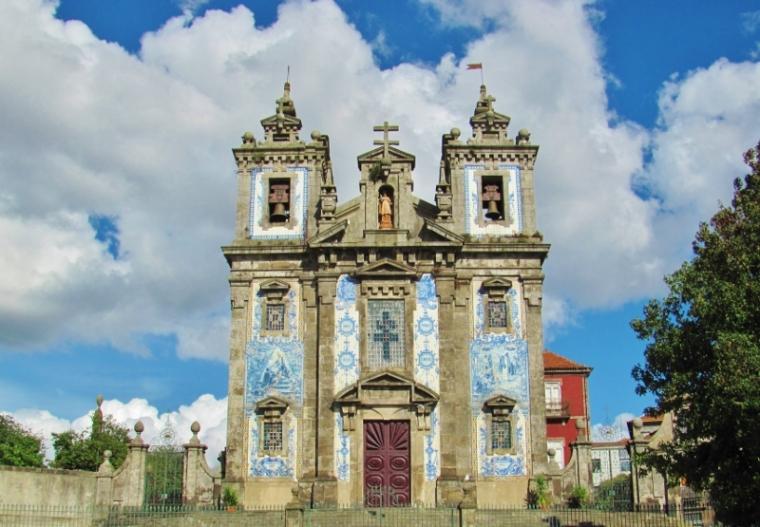 Porto Portugal Eglises Azuleros