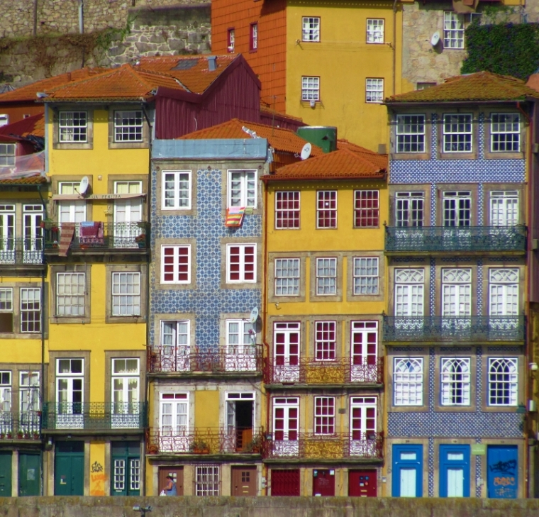 Porto Portugal Immeubles colorés
