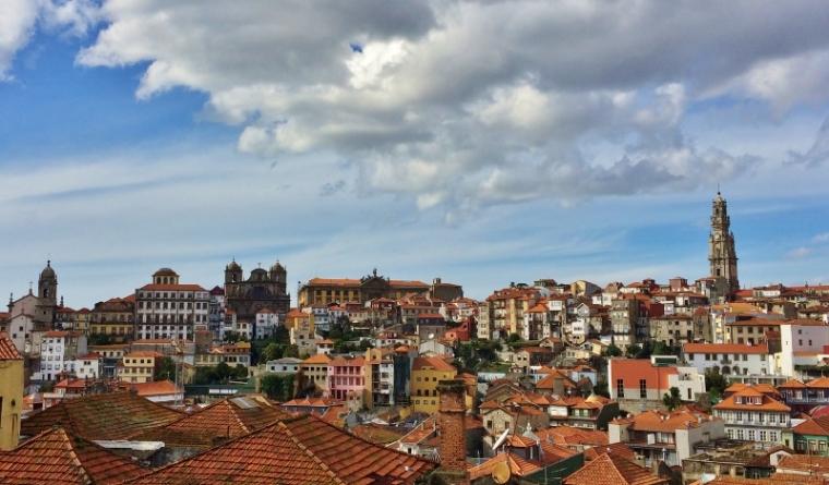 Porto Portugal Vue sur Torre de Clérigos
