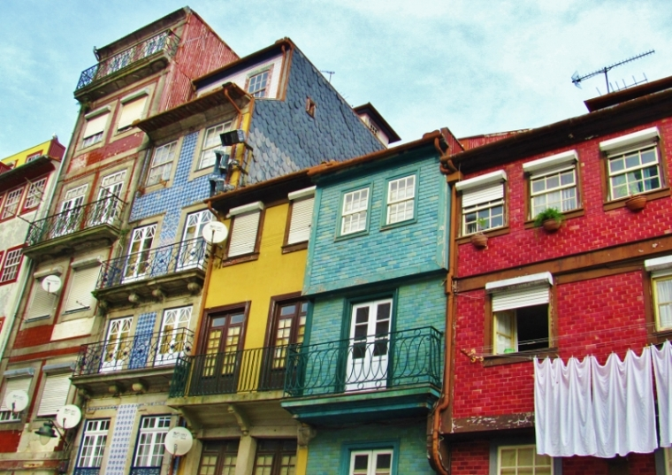 Porto Portugal immeubles