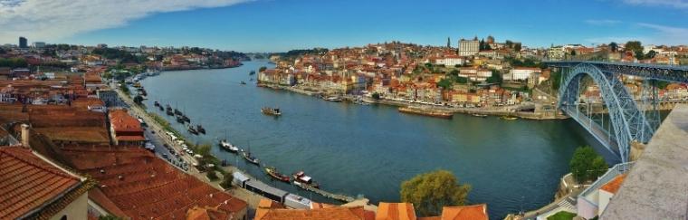 Vue Porto Portugal Pont Dom Luis