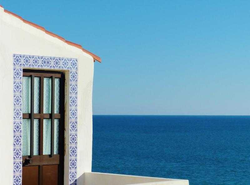 Algarve Portugal vue sur océan