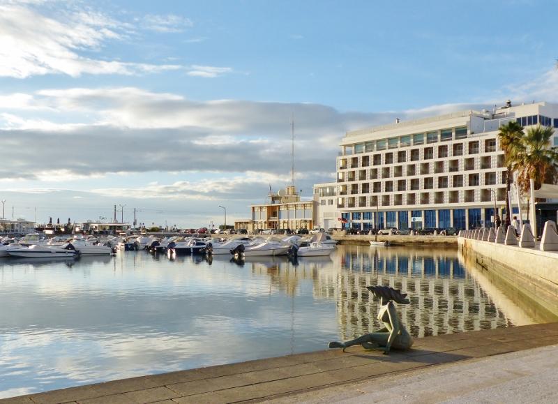 Algarve faro et son port