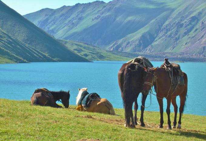 Kirghizstan Kul Ukok