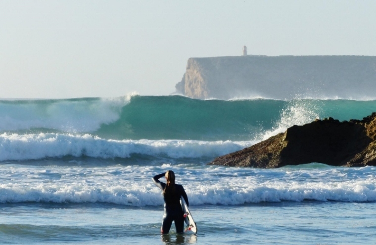 Algarve surfeur