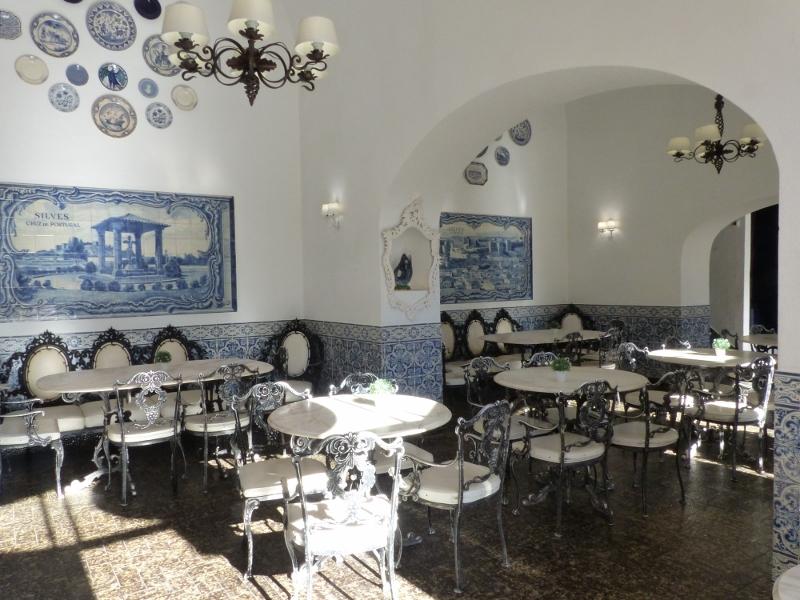 Algarve Silves café Portugal