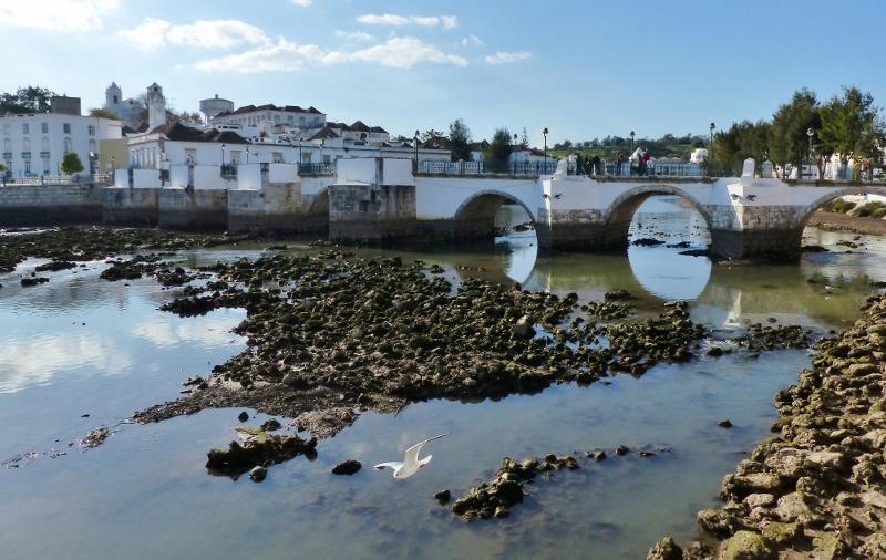 Tavira ville Algarve Portugal
