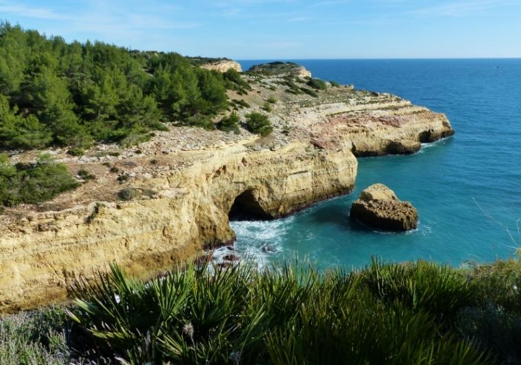 Algarve falaises