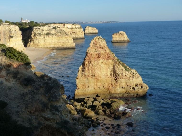 Algarve Portual Praia da Marinha