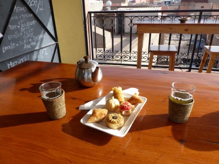 Marrakech café Fnaque berbère
