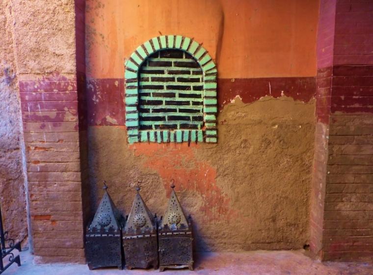 Marrakech Couleur des rues