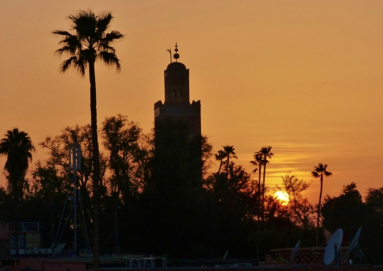 Marrakech Mosquée de la Koutoubia