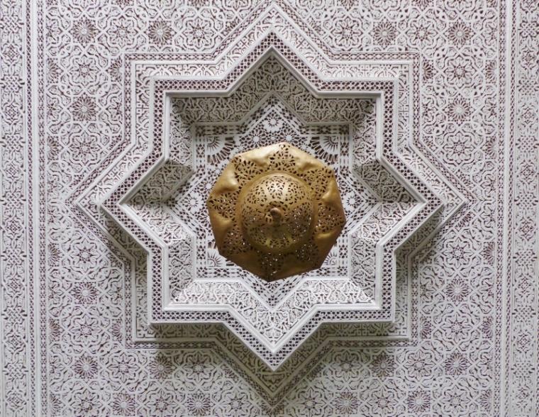 Marrakech plafond