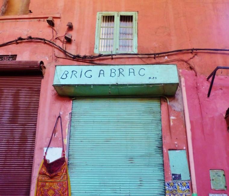 Marrakech ruelle souk