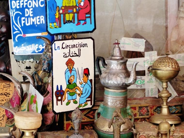 Marrakech Ryad Souk drôle