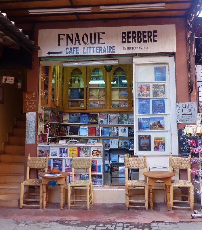 Marrakech souk Fnaque berbère