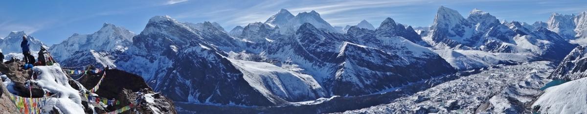 Népal Gokyo Ri Trek camp de base de l'Evesrest