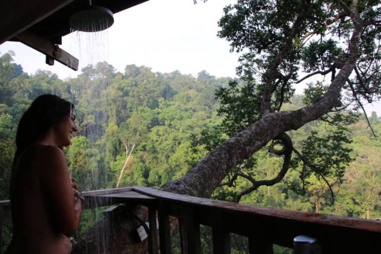 cabane perchée au laos
