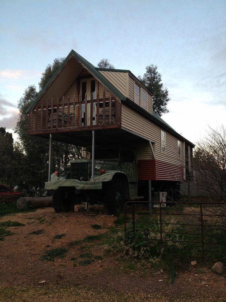 camion hotel truck australie
