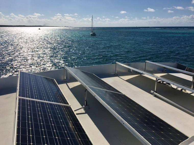 eco lodge guadeloupe panneau solaire