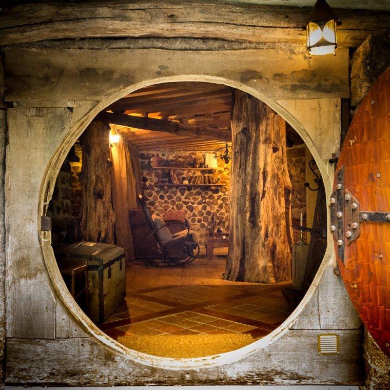 maison hobbit bourgogne intérieur