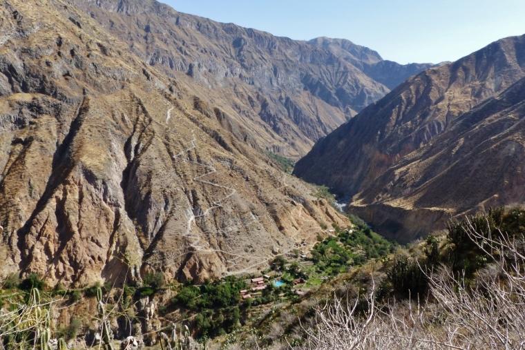 Canyon de Colca Oasis de Sangalle