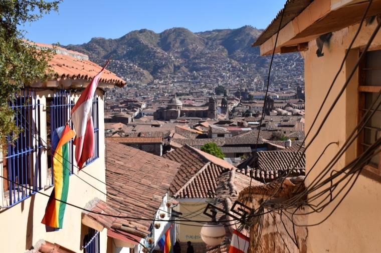 Cuzco rue san blas
