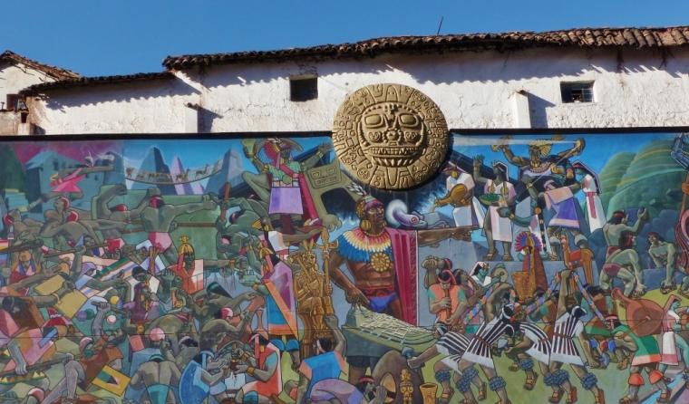 cuzco street art pérou