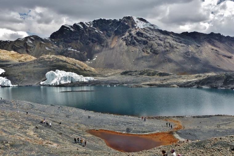 glacier pastoruri pérou vue