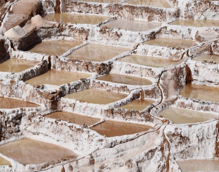 Les salines de Maras Pérou