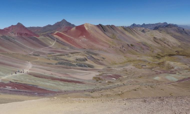Montagne colorée Vinicunca pérou